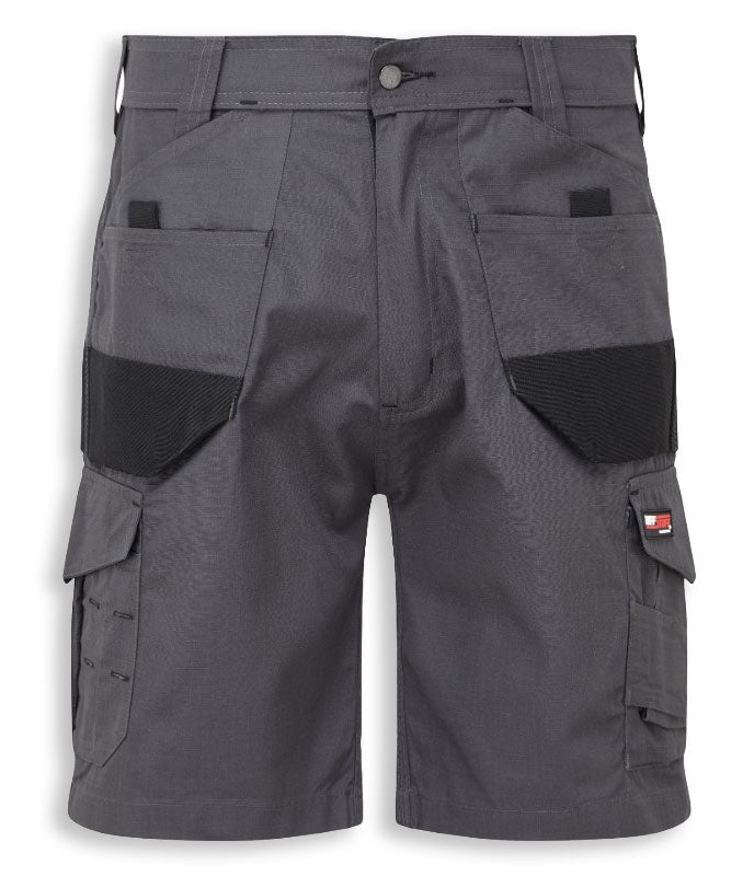 Grey/Black Castle Tuffstuff Elite Work Shorts 827