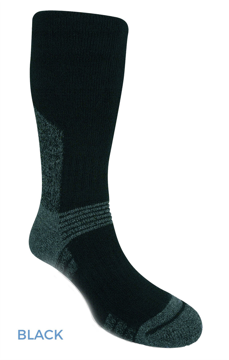 Black Bridgedale Explorer Heavyweight Sock