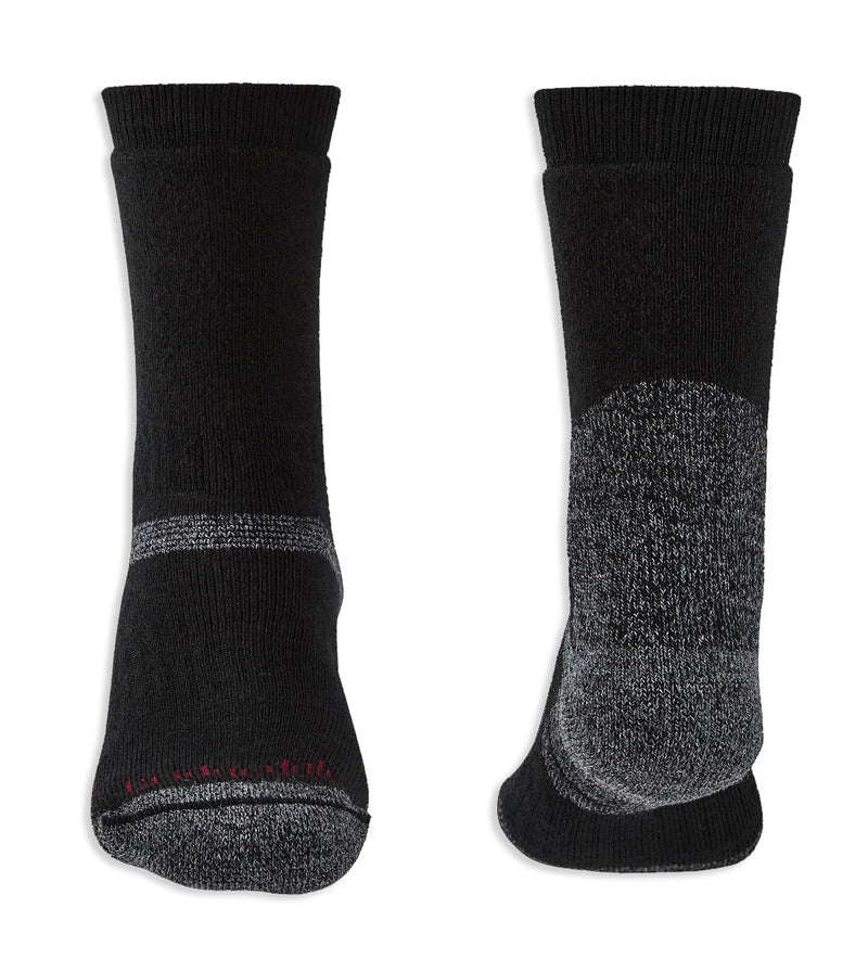 Heel and toe Bridgedale Explorer Heavyweight Boot Sock