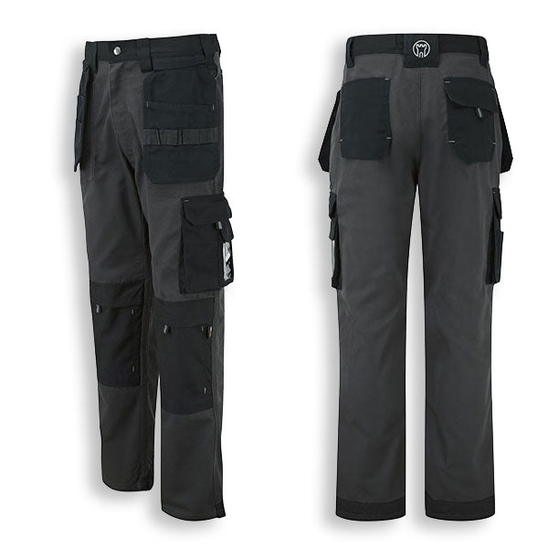 Multiple tool pockets hardwearin Cordura Work trousers