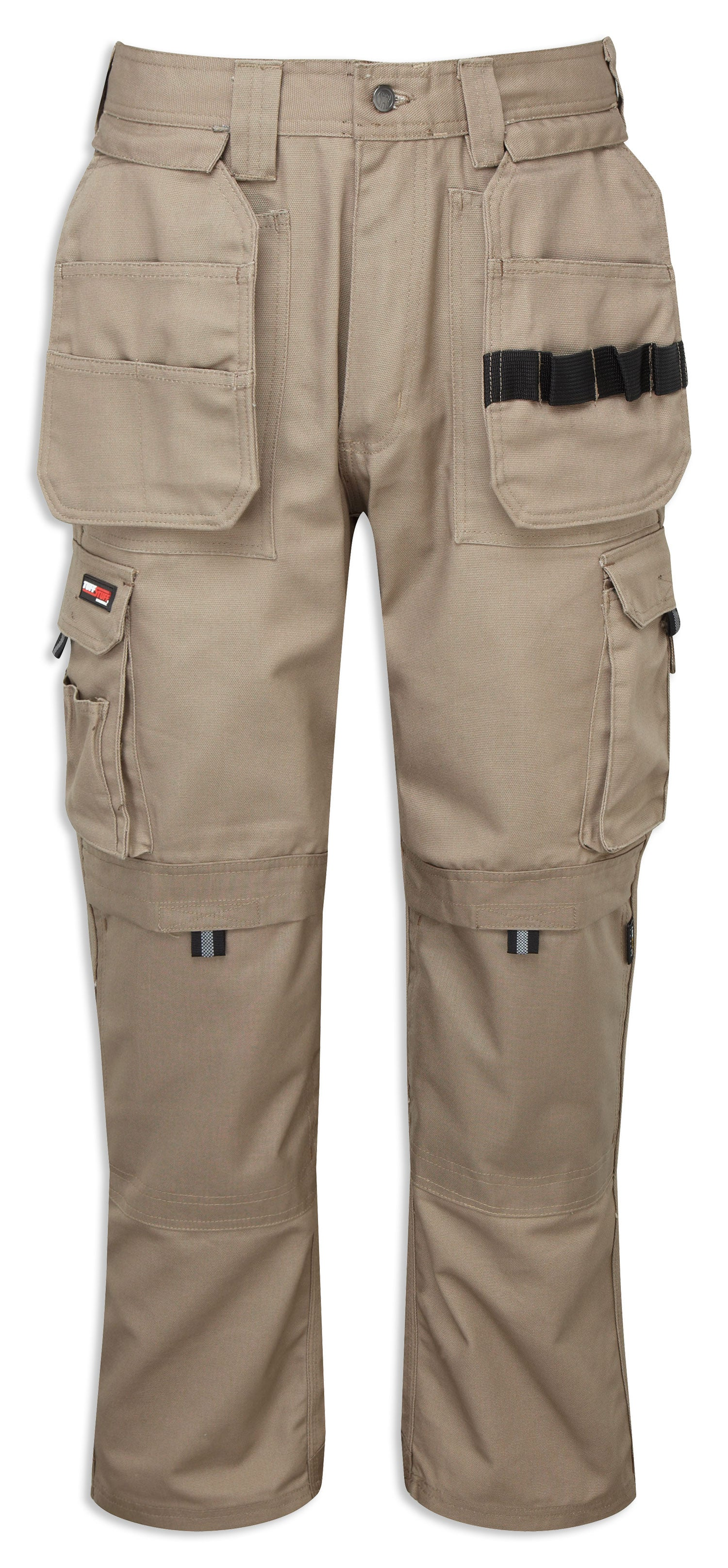 Stone Extreme Multi-pocket Tuffstuff Work Trousers