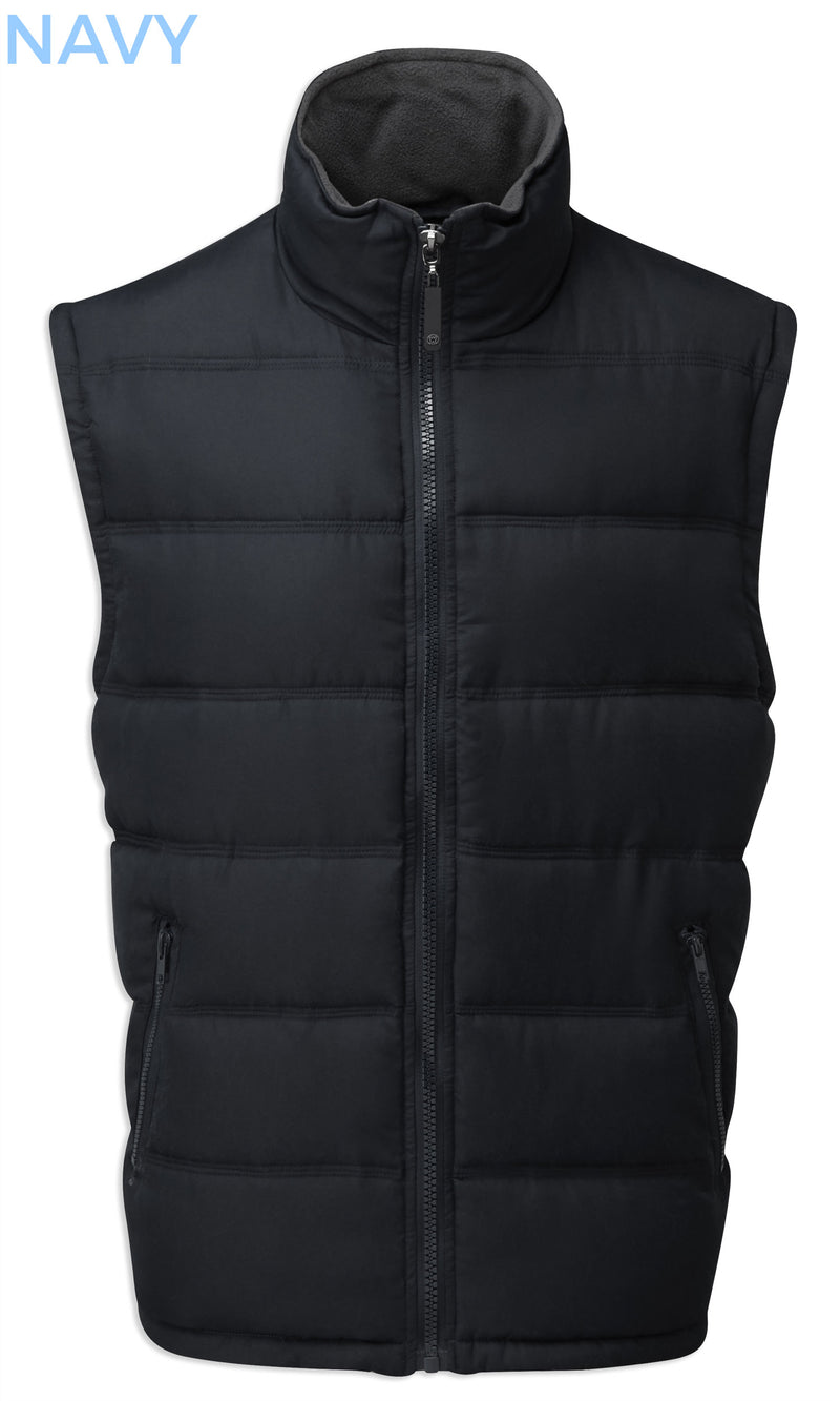 navy Fortress Downham Quilted Bodywarmer