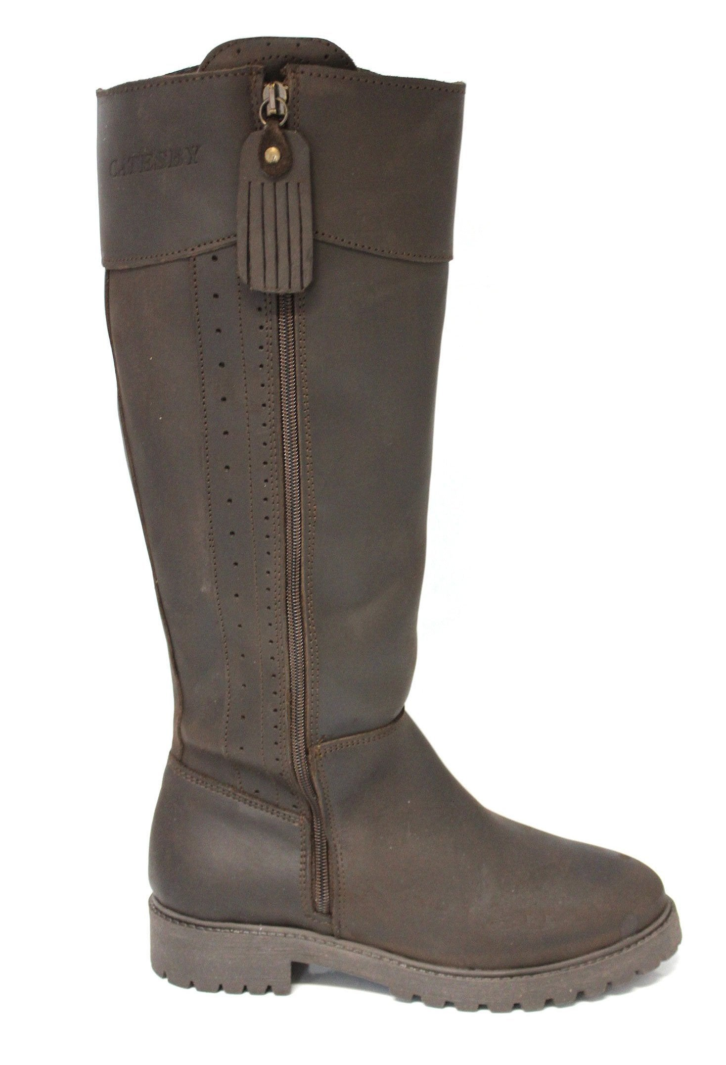 Catesby Fawsley High Leg Leather Country Boots