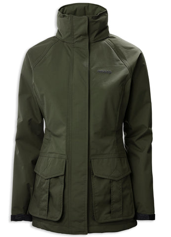 Musto Ladies Fenland BR2 Packaway Jacket | Dark Moss Green