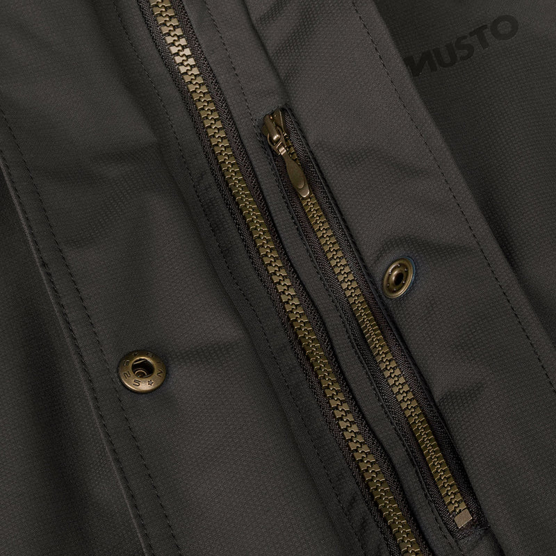 Zip chest concealed pocket