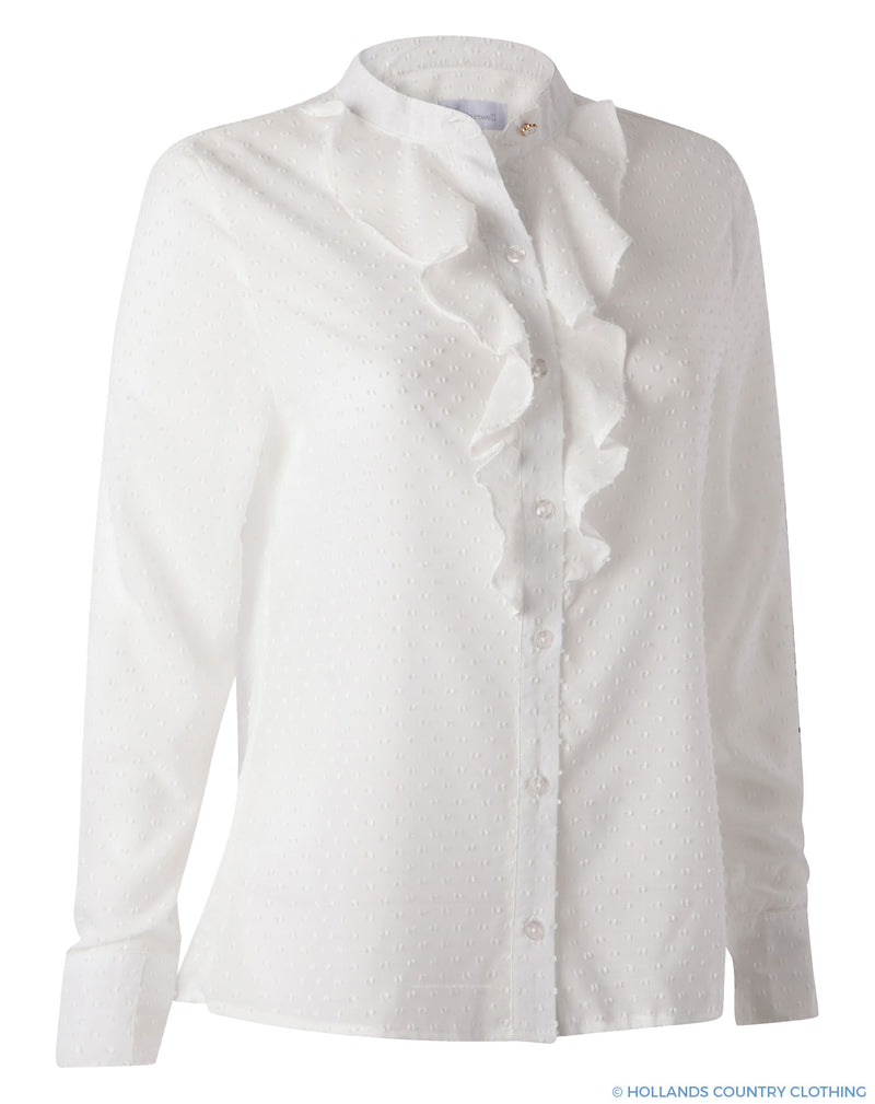 Hartwell Fiona Ladies Shirt | Fancy White