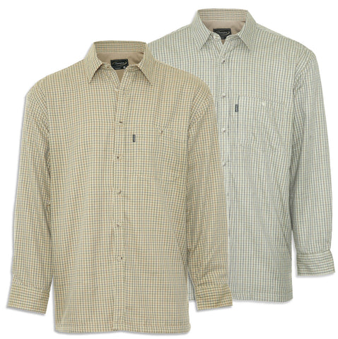 Cartmel Micro Fleece Lined Tattersall Shirt