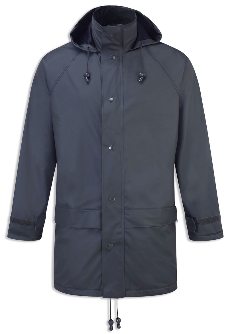 Fortex Flex Waterproof Jacket by Castle in navy