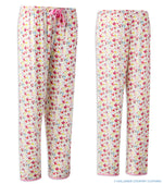 Pink Flowery Pyjama bottoms