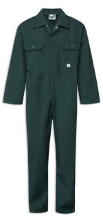 Spruce Green Castle Fort Stud Front Boilersuit