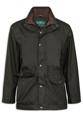Woodland Green Alan Paine Fernley Waterproof Field Coat