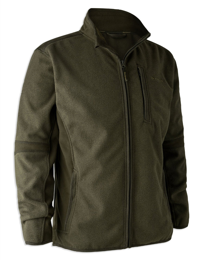 Deerhunter Gamekeeper Bonded Fleece Jacket | Graphite Green