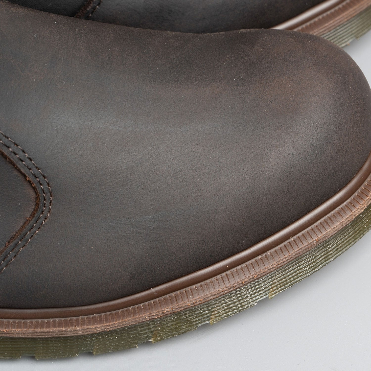 the Goodyear Welt  attaches the airwair sole to the leather upper