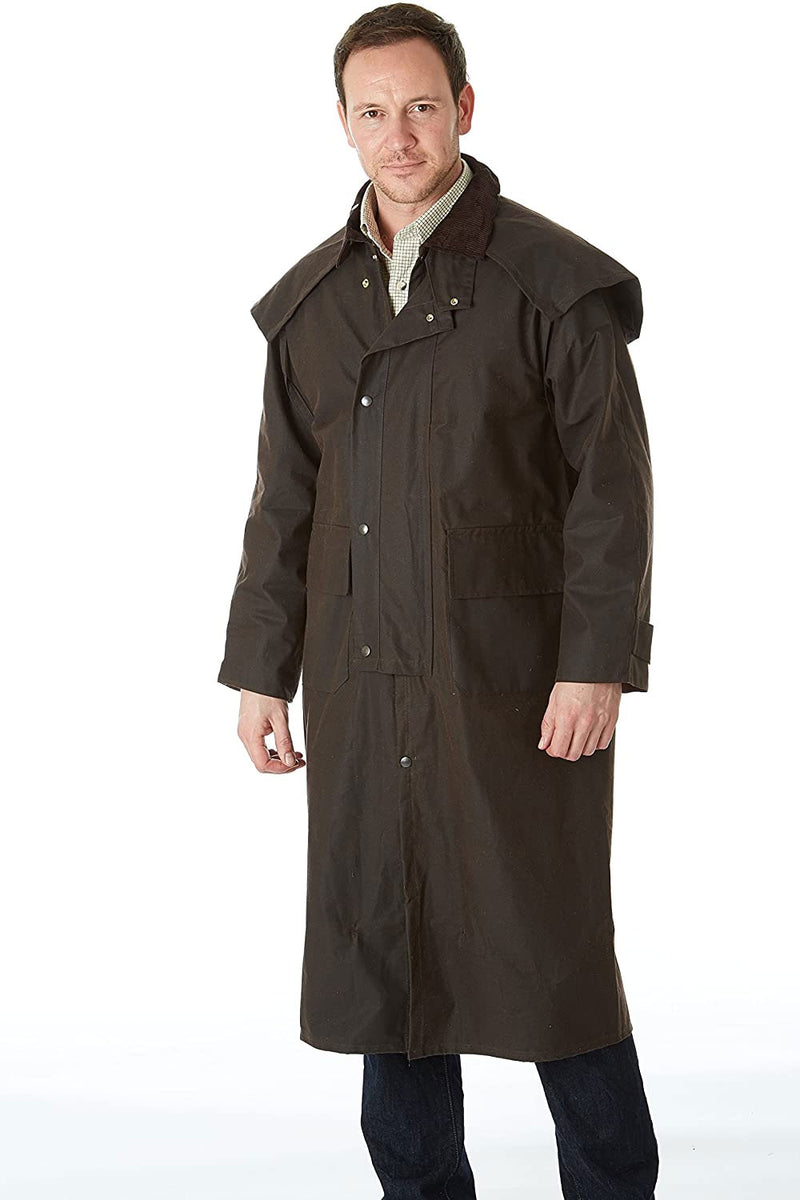 Sherwood Forest Gore Long Wax Coat