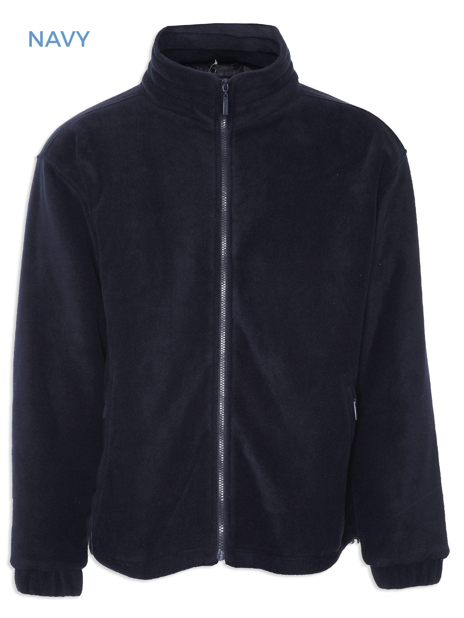 Glen Lined Fleece Jacket from Champion in navy