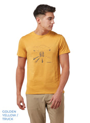 Golden Yellow Nelson T-Shirt by Craghoppers