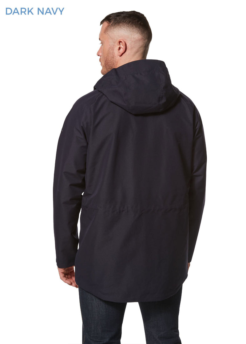 Back view Corran Gore-Tex Waterproof Jacket by Craghoppers