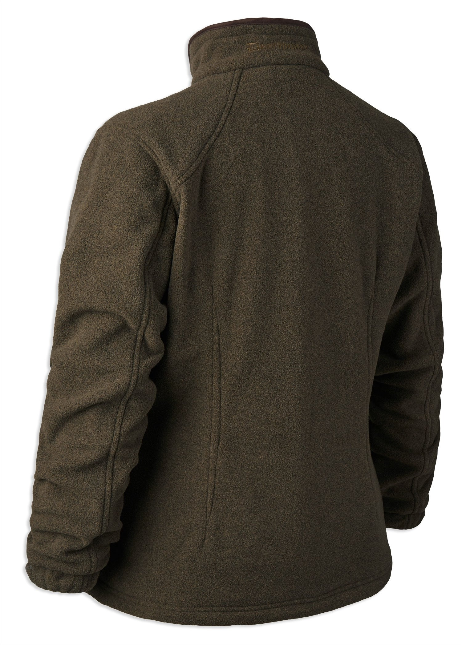 Back View Green Deerhunter Lady Josephine Fleece with Stormliner