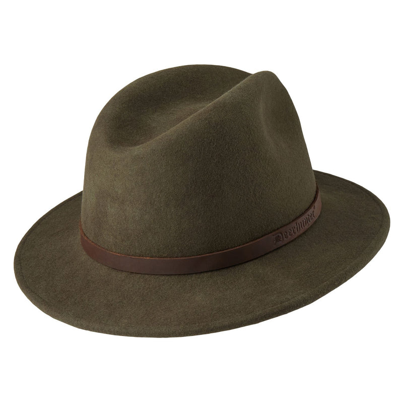 Back View Deerhunter Adventurer Felt Hat