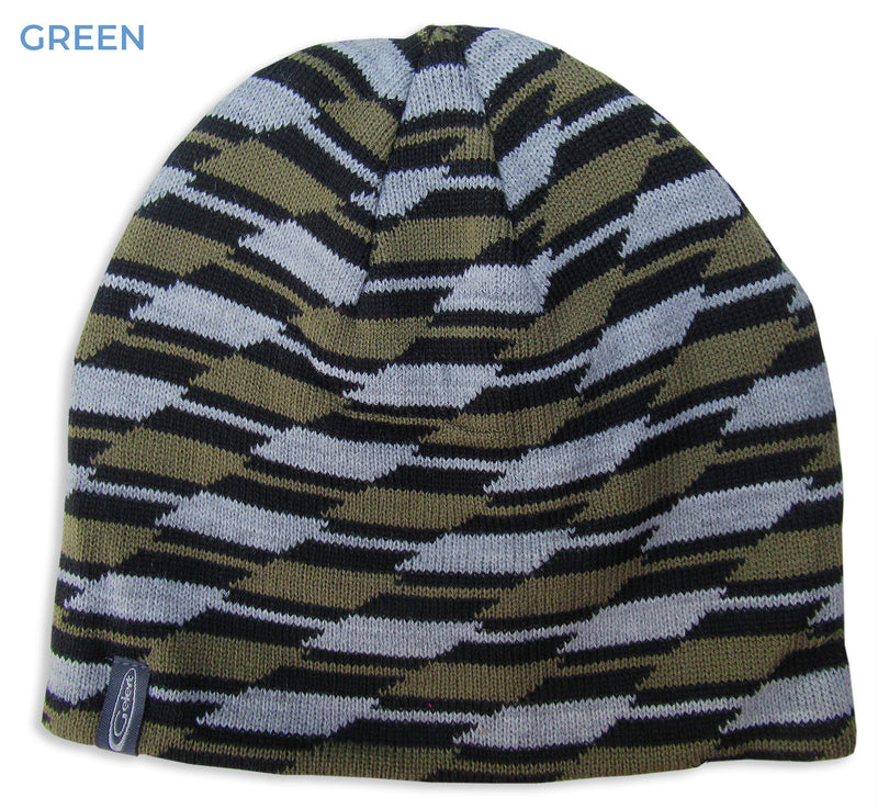 Green Gelert Men's Pattern Beanie Hat
