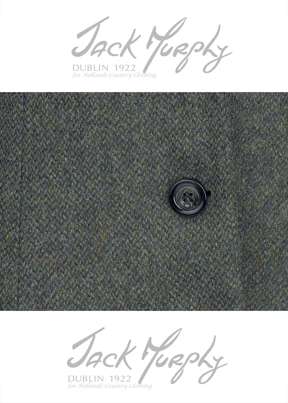 jack murphy Green delight tweed swatch