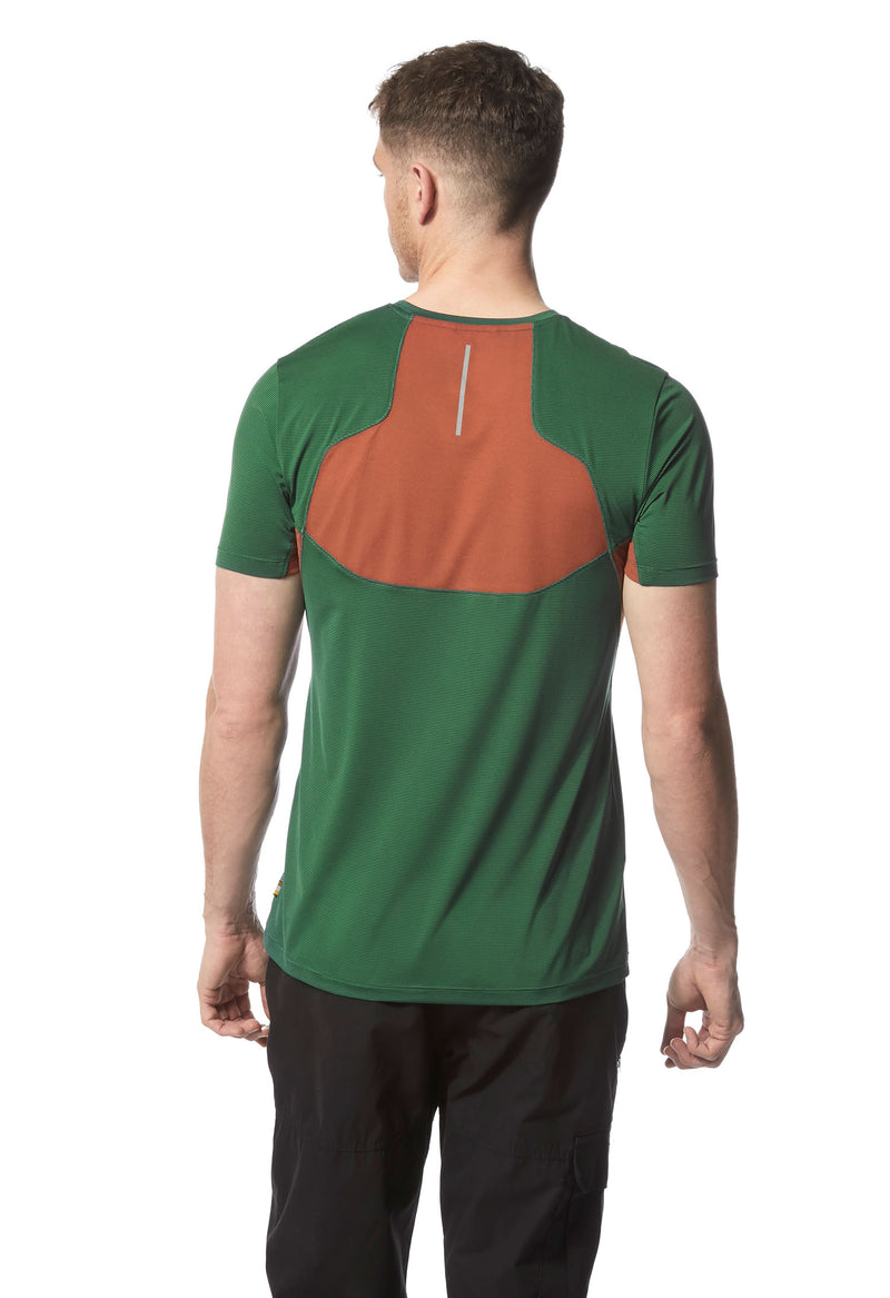 Back view Mountain Green T shirt Fusion