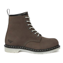 Grey Dr Marten's Maple Women's Work Boots