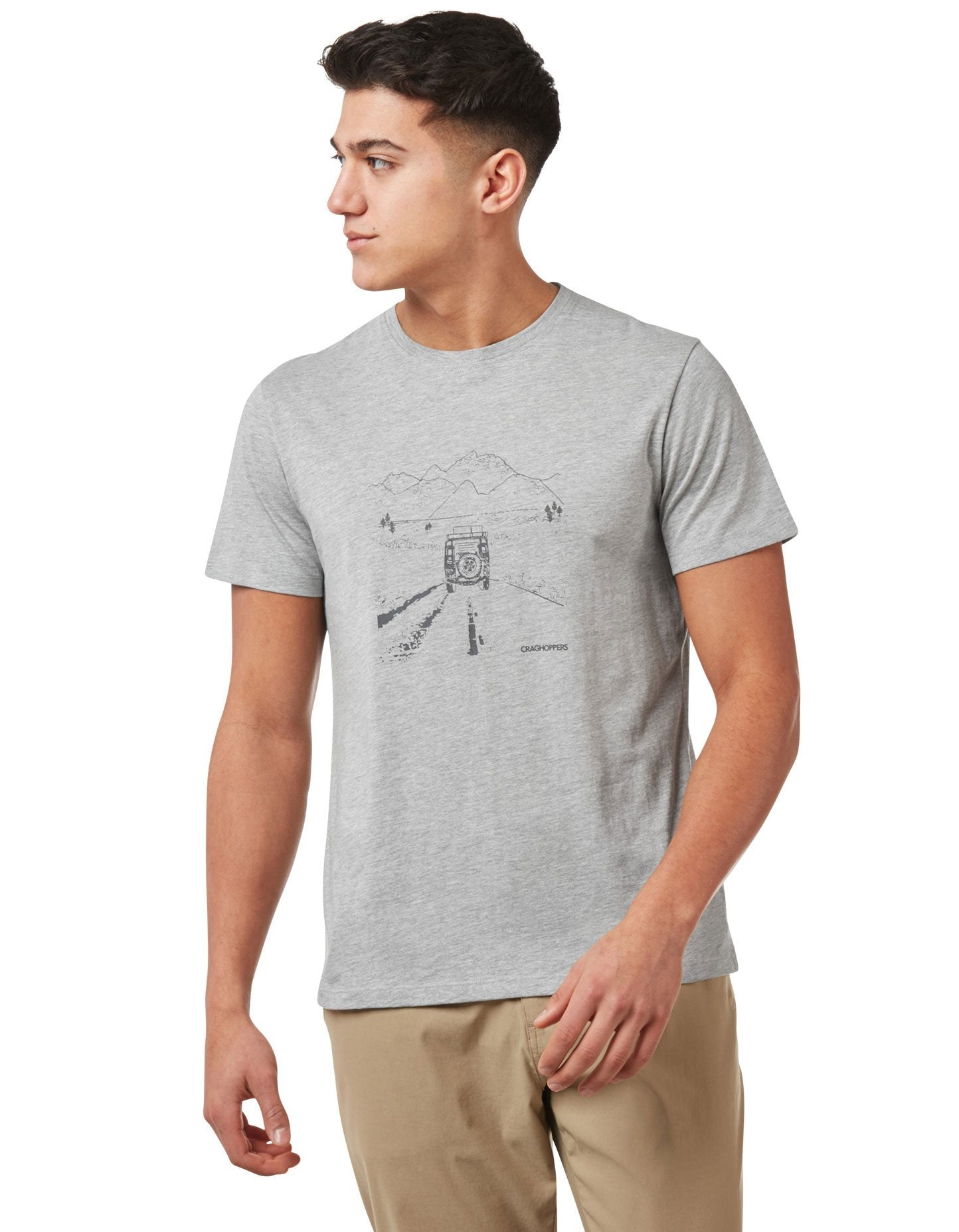 Grey Nelson T-Shirt by Craghoppers