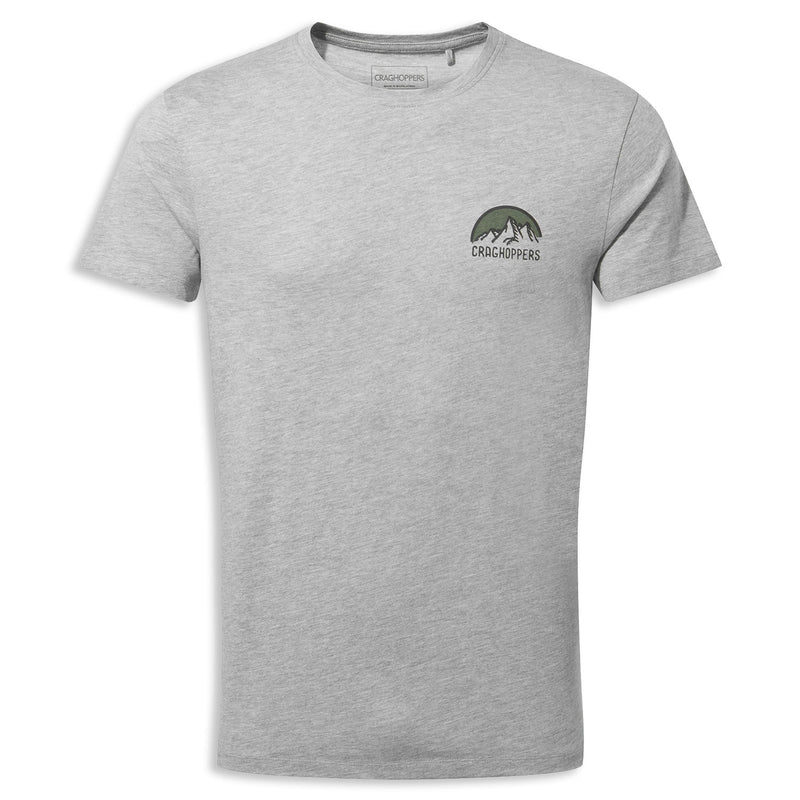 Grey Marl Craghoppers Mightie T-shirt