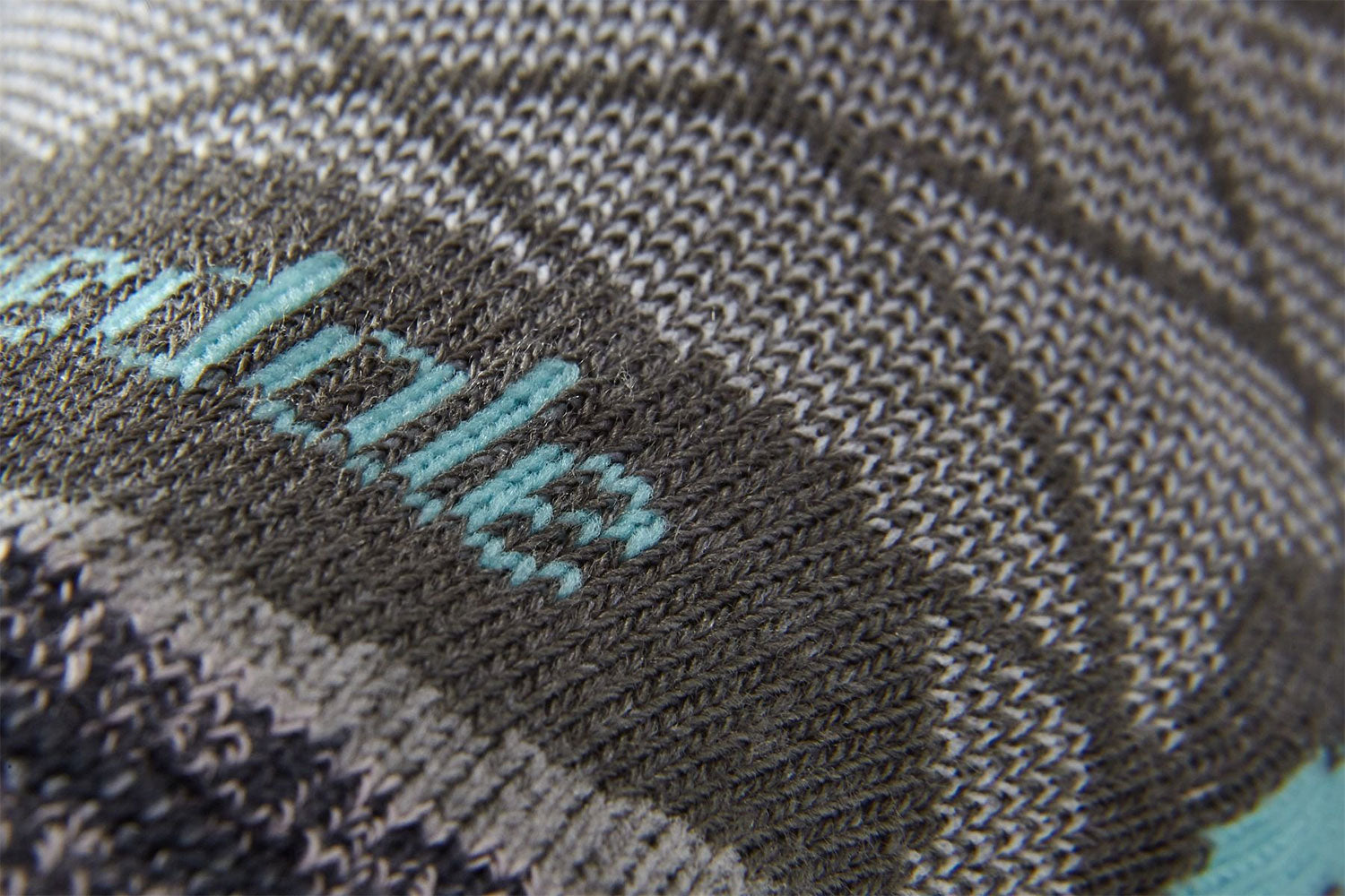 Dark Grey Sock Detail