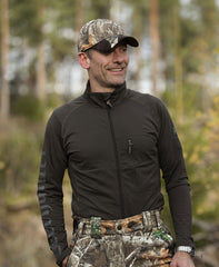 Showing chest pocket Deerhunter Greystone Innerlayer