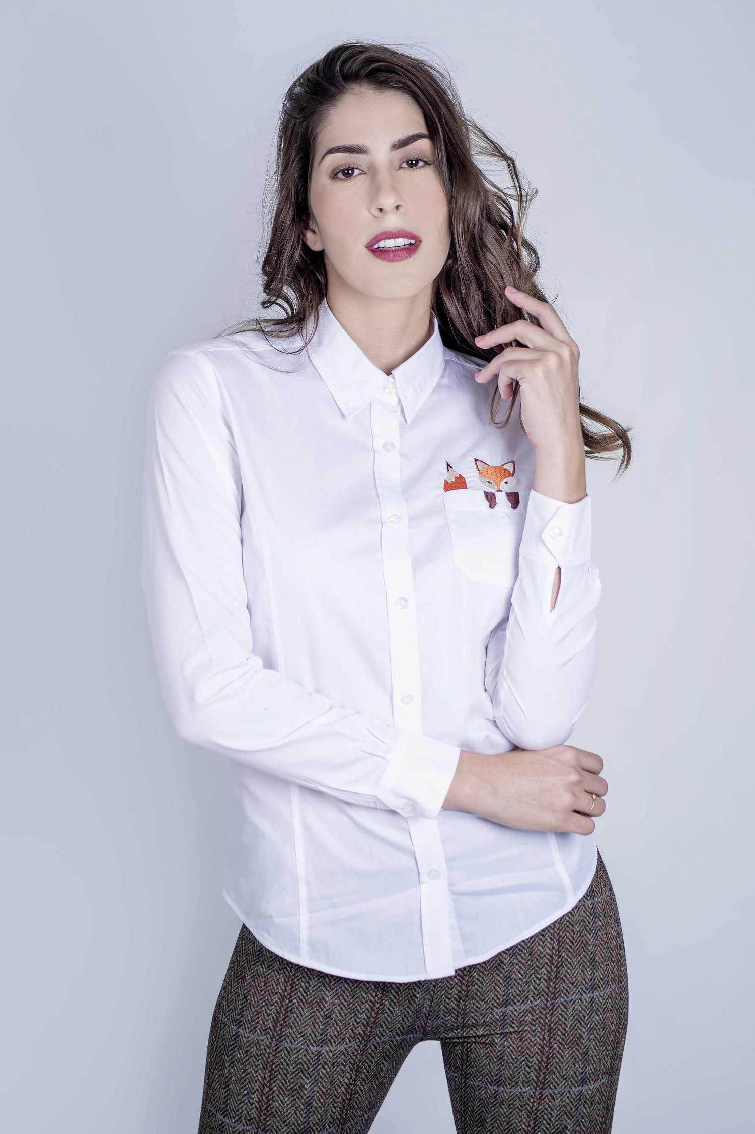 Hartwell Lily Cotton Shirt | Cheeky Fox