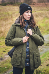 Lady wearing Highland Gore-Tex Ultra Lite