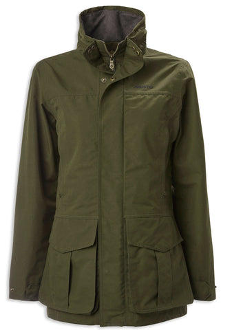 Musto Ladies Highland Gore-Tex Ultra Lite Jacket | Dark Green