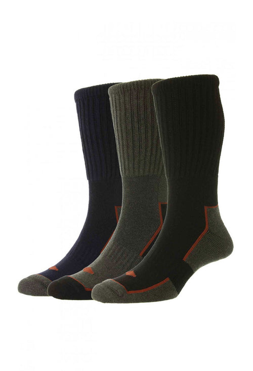 HJ Hall Long Work Sock | 3 Pack