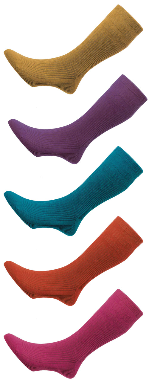 HJ Hall Original Soft Socks | Wool Rich | Five Colours
