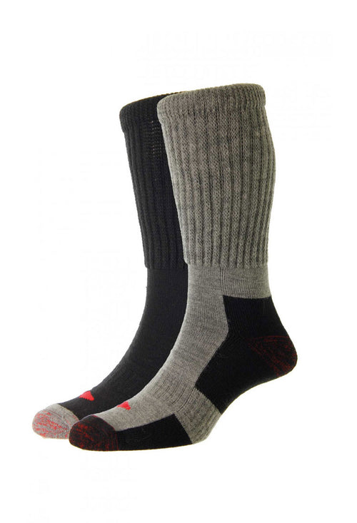 HJ Hall Wool Thermal Workwear Sock | 2 Pack