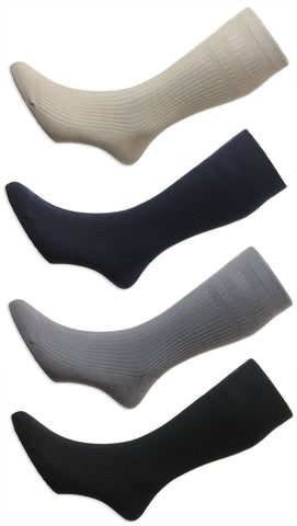 HJ Hall Extra Wide Soft Top Sock | Sanitised Cotton