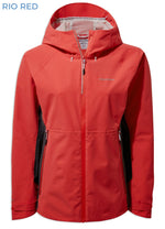 Rio Red Craghoppers Haidon Waterproof Jacket