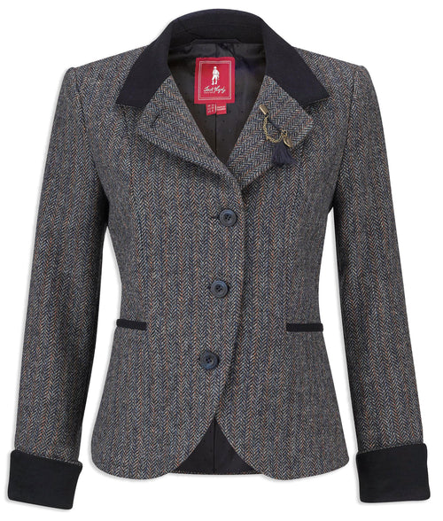 Jack Murphy Harriet Tweed Jacket | Blue Moon