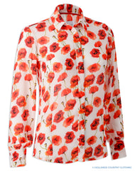 Hartwell Lia Ladies Shirt | Poppy