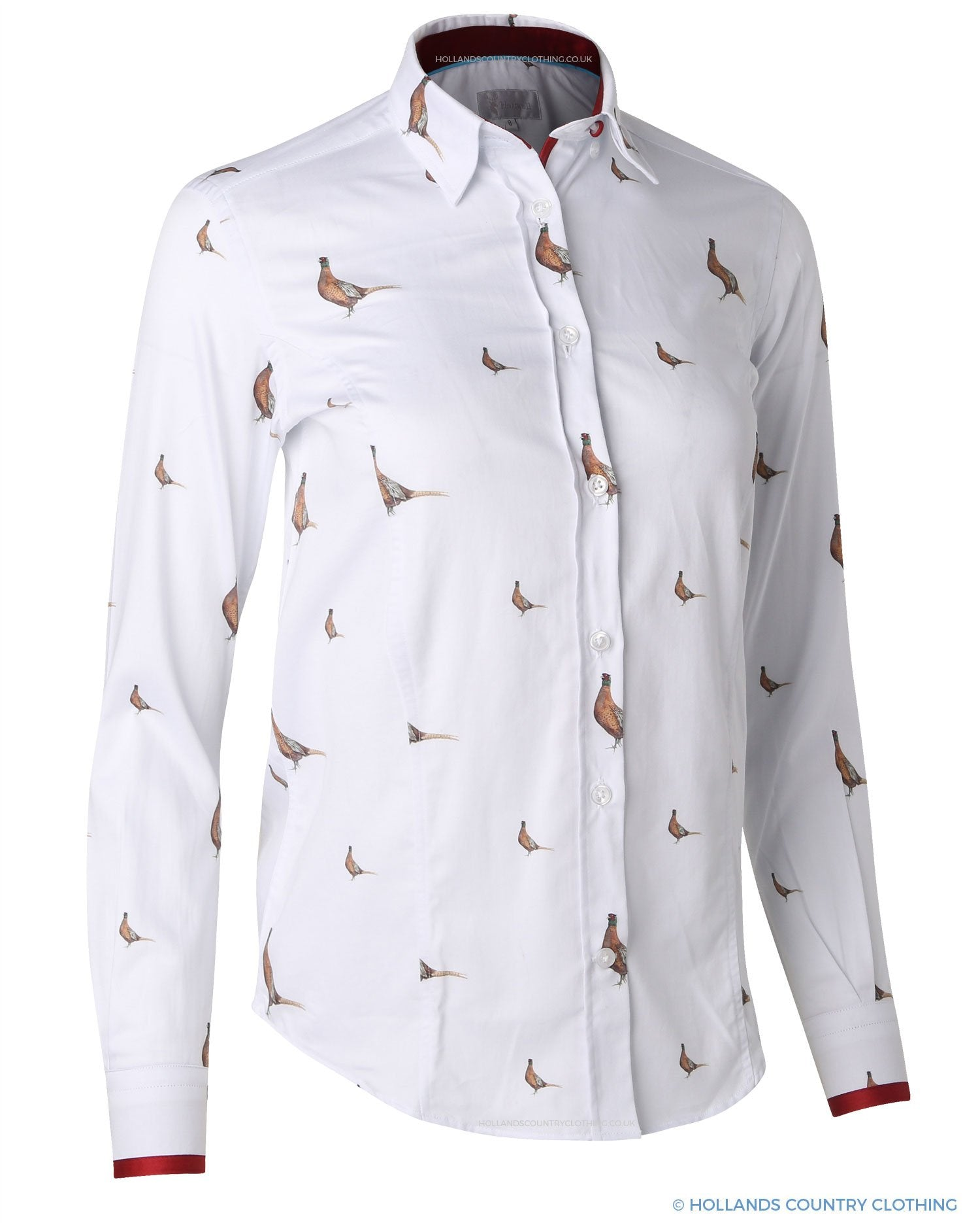 Hartwell Layla Cotton Shirt | New Pheasants