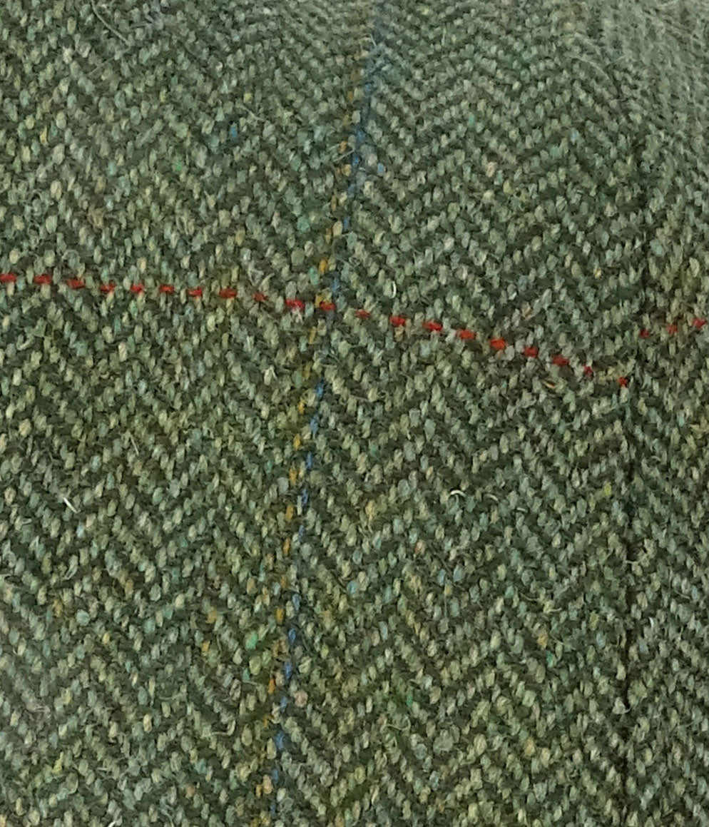 Hoggs Green Herringbone Tweed
