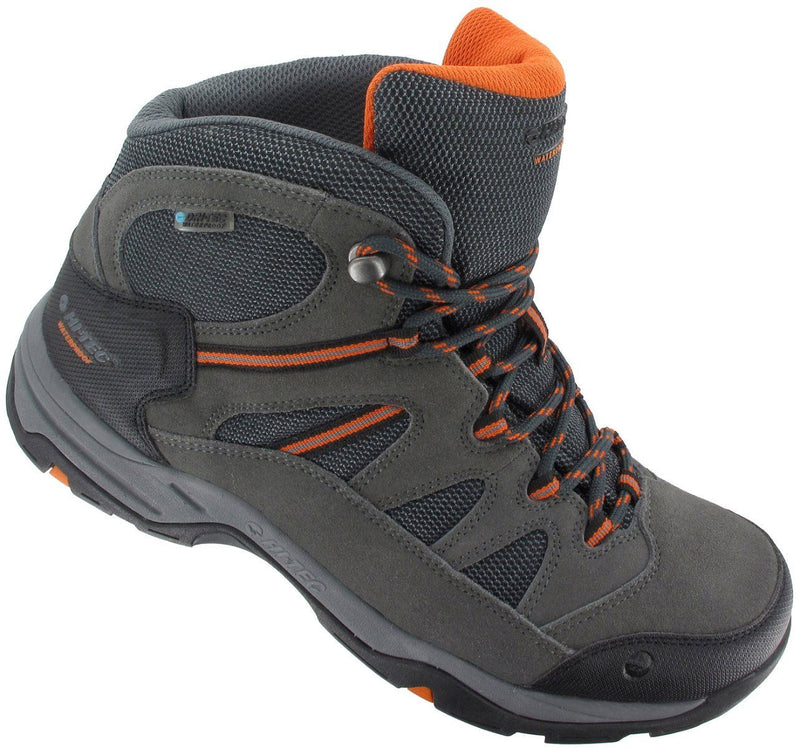 Lightweight summer nylon and suede hiking boot