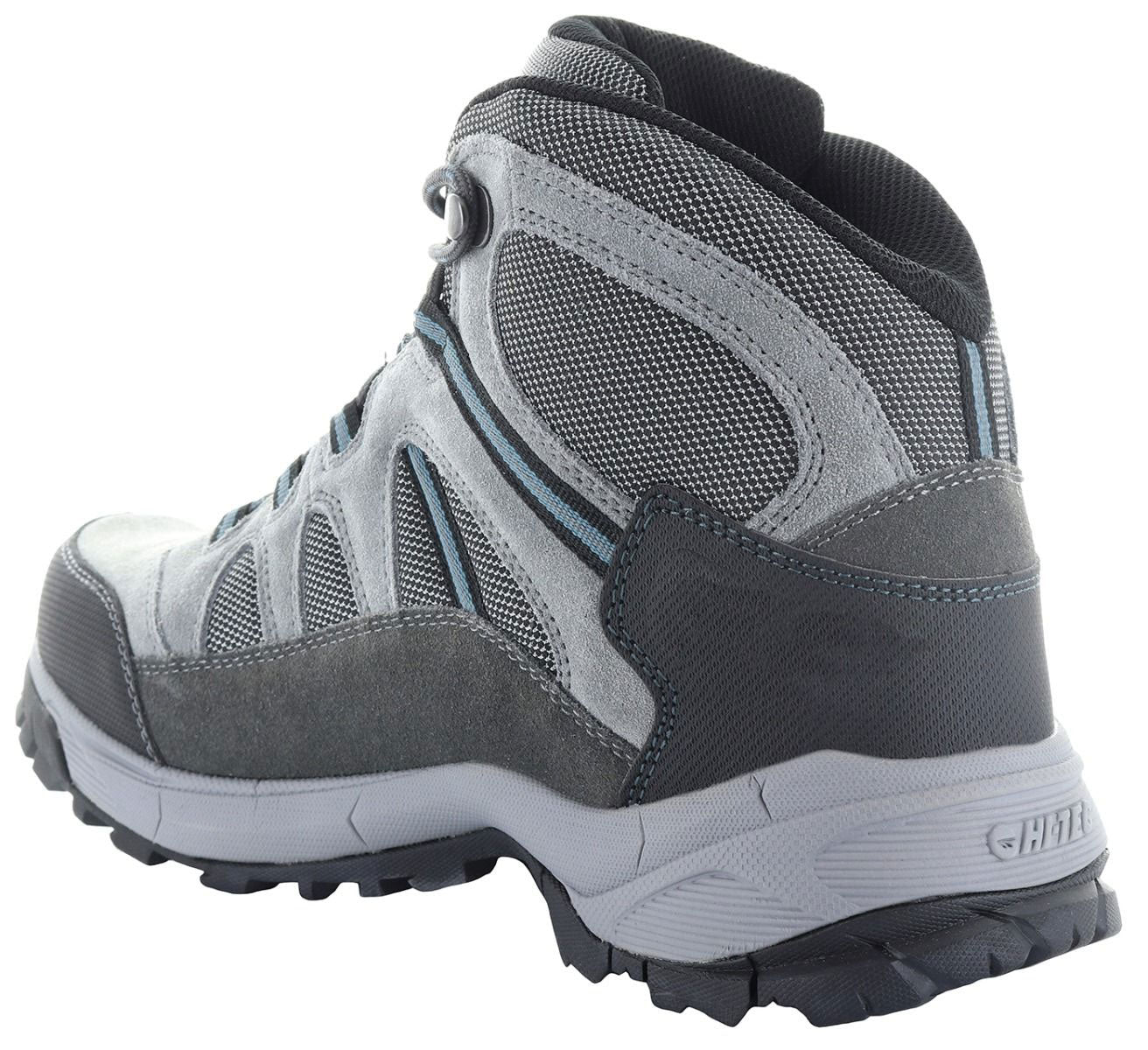 Achilles support nylon and suede hiking boots