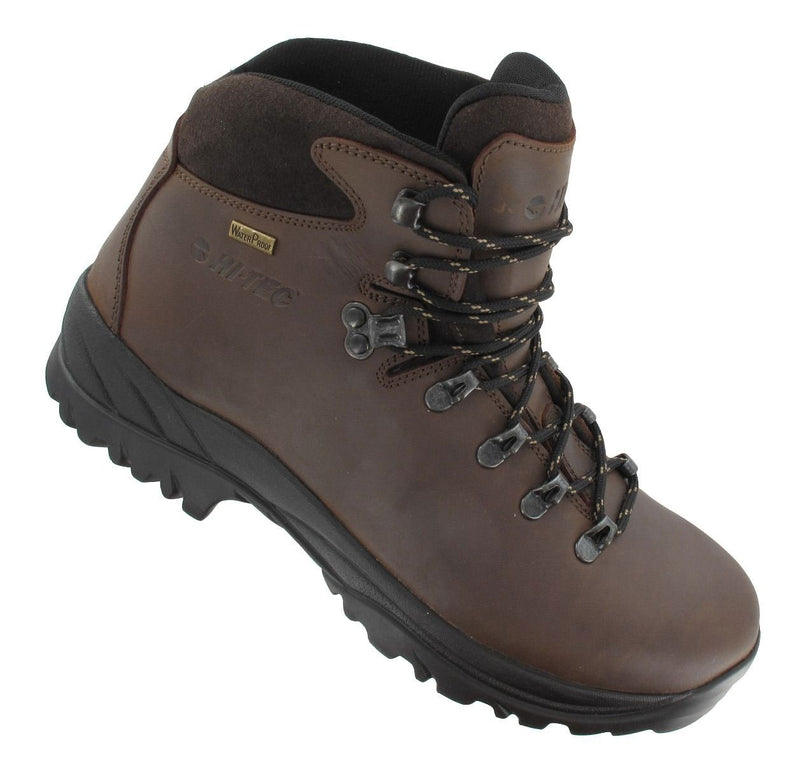 Ravine Men's Waterproof Hiking Boots by Hi-Tec