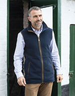 Man wearing Highfield Fleece Waistcoat by Baleno