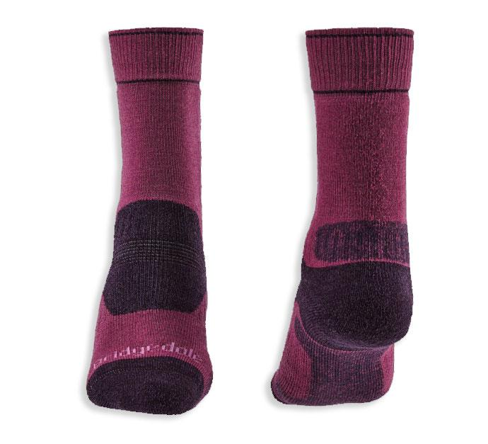 Plum cushion heel Bridgedale Women's Hike Performance Sock