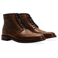 toe cap view Goodwin Smith Hitchcock Laceup Boot  | Tan