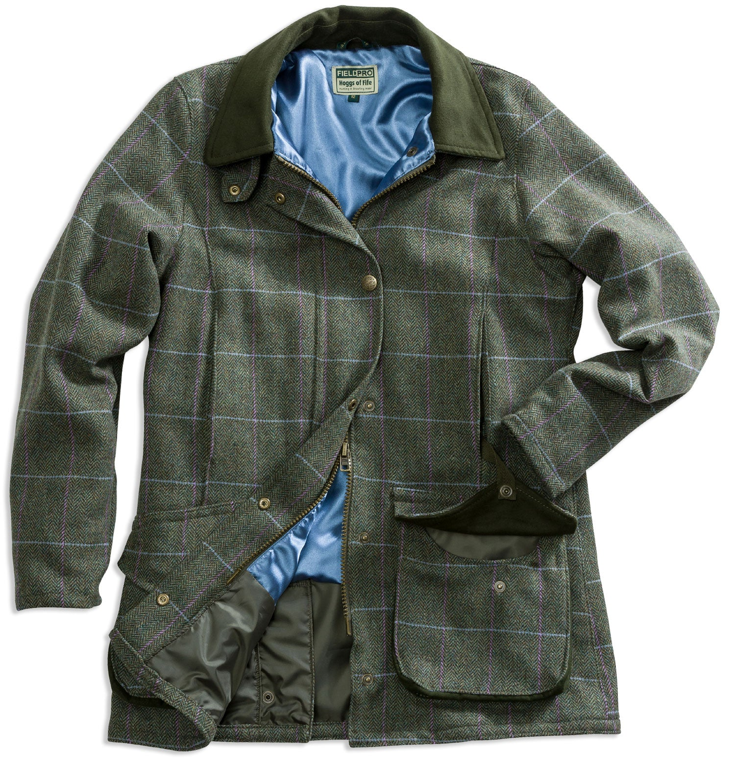 a1f53f0869093 Hoggs of Fife Albany Ladies Tweed Shooting Jacket – Hollands Country  Clothing